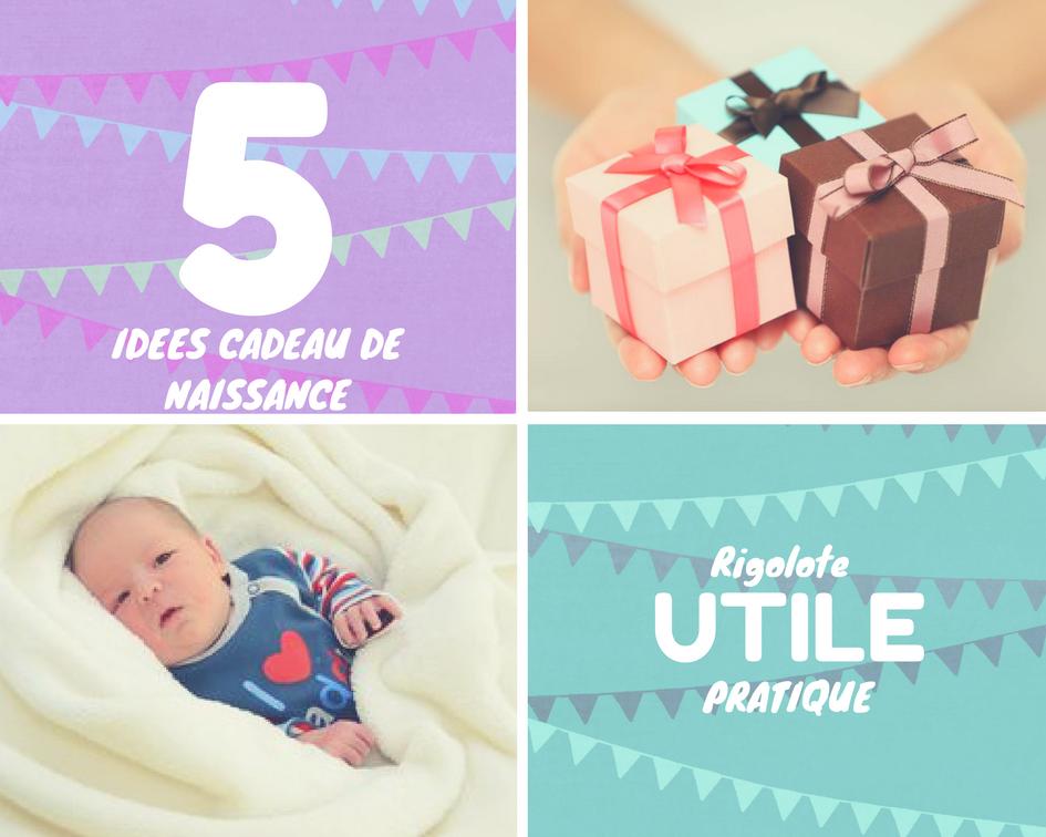 Top 5 des cadeaux de naissances
